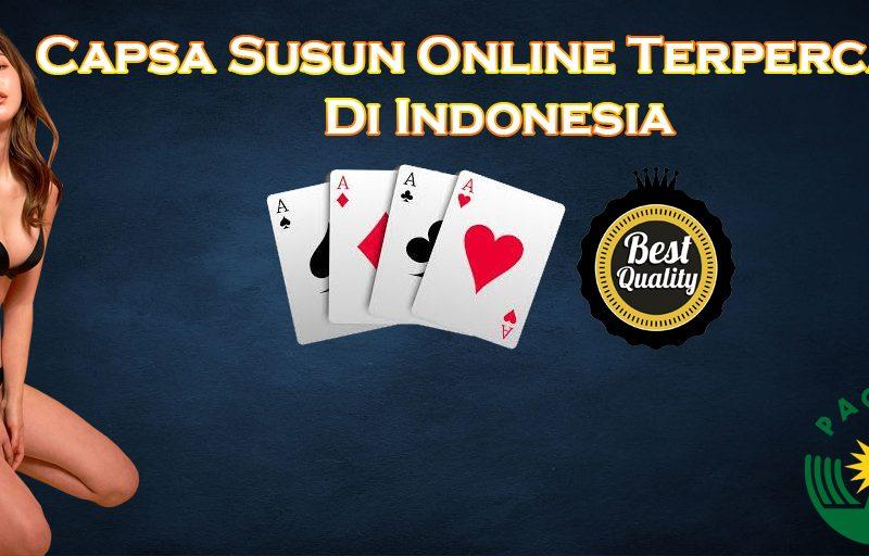 Capsa Susun Online Terpercaya Di Indonesia